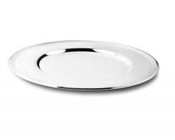 Assiette de présentation Filet argenté 33cm