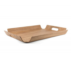 Plateau Madera rectangulair XL