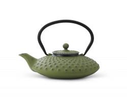 Théiere Xilin fonte 0,8L vert