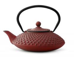Théiere Xilin fonte 1,25L rouge