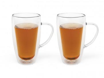 Verre à café/thé double paroi 320ml s/2