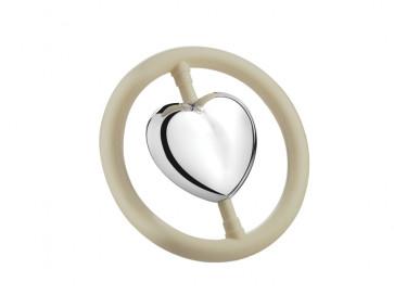 Hochet Cœur dans l'anneau (B90)