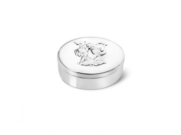 Boîte pour dent ovale Woezel & Pip arg./laq.