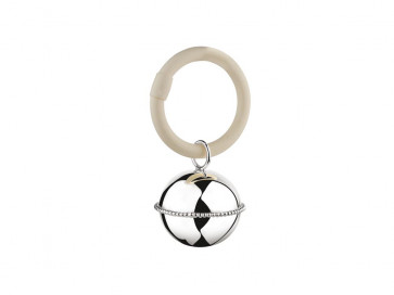 Hochet Ballon perle accroché à l'annea 925 argent