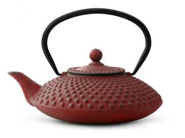 Théiere en Fonte Xilin 1,25L Rouge