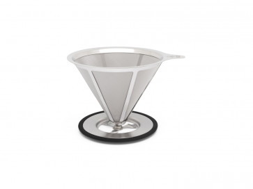 Filtre à café pour 3 ~ 4 tasse, acier inox
