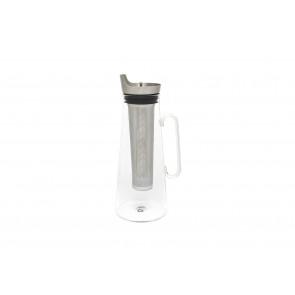 Carafe à thé glacé 1,2L, avec filtre en inox