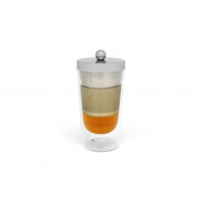 Tea for one Lucca à double paroi avec filte et couvercle