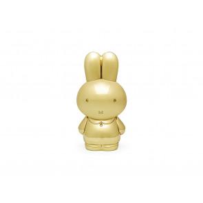Tirelire Miffy couleur d'or laqué