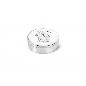Boîte pour dent de lait et mèche de cheveux ovale Woezel & Pip