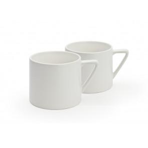 Tasse à thé Lund blanc s/2