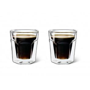 Verre Double Paroi Espresso, 100ml, set de 2