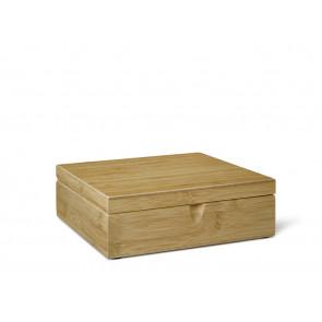 Boîte à thé 6 comp. Bambou