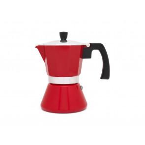 Caf. italienne à Espresso Tivoli rouge